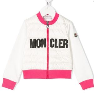 Moncler Maglia Quilted Cardigan Size 6